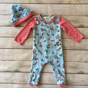 Matilda Jane Floral Romper size 6-12 months